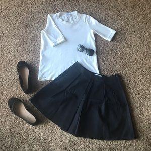 Lacoste navy skirt